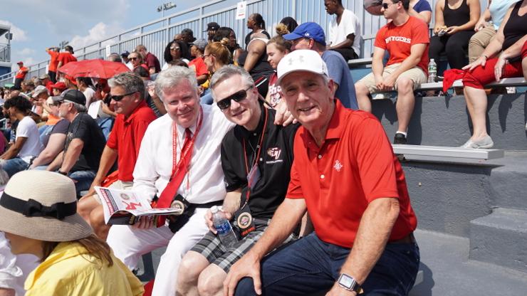 Caldwell University's first-ever Sprint Football Game - September 16
