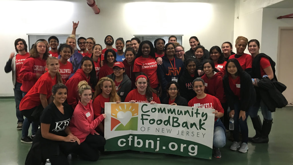 Volunteers in the Community FoodBank