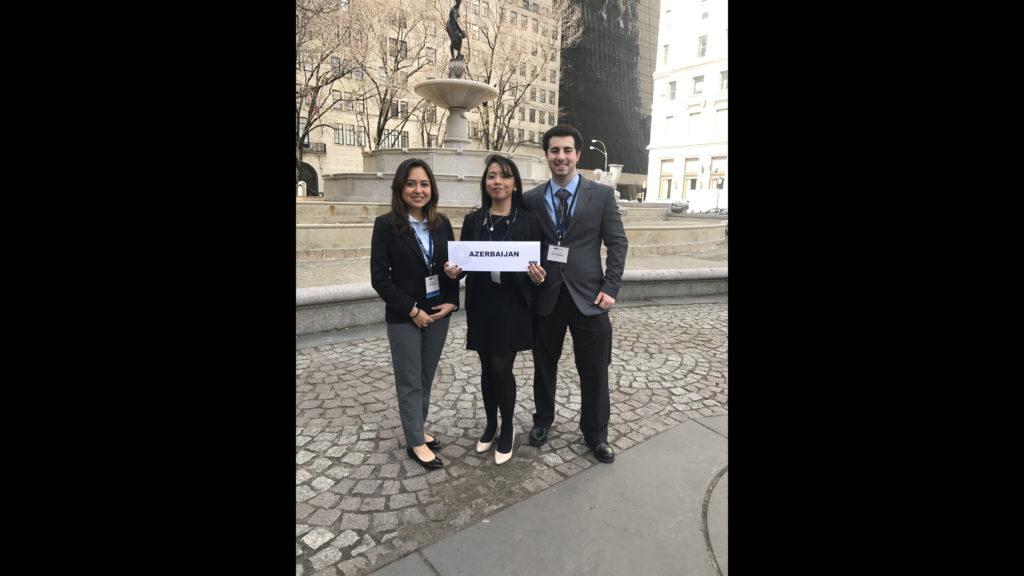 Patrick Rotondo, Daniele Roca and Katherine Llanga at New York CIty