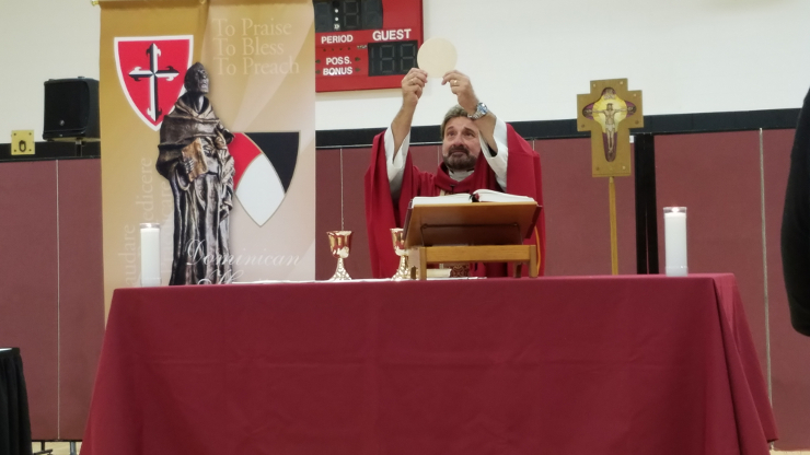 Caldwell University community gathered for Mass of the Holy Spirit