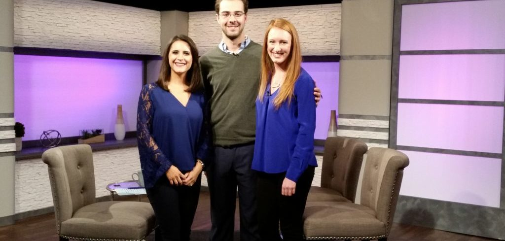 Caldwell University alumna Emma Clarke and senior Sean Puzzo are guests on Life & Living with Joanna Gagis.