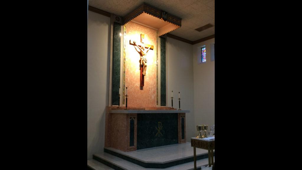 Jesus Cross at Mother Joseph Chapel