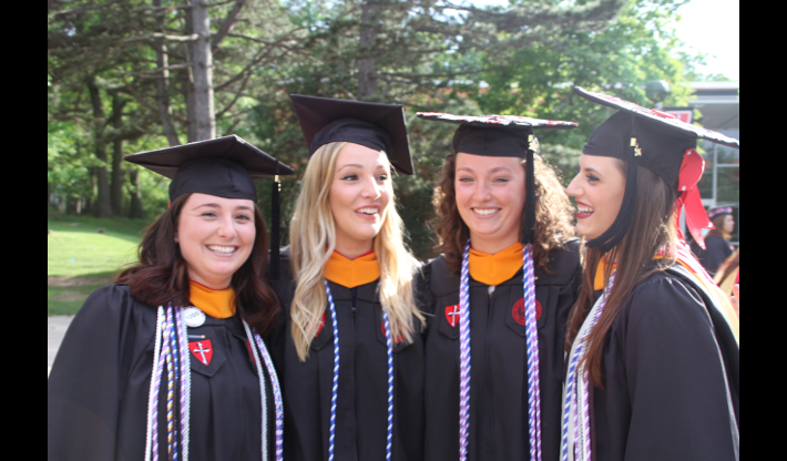 Caldwell University Nursing Students at Annual Convocation and Professional Pinning Ceremony