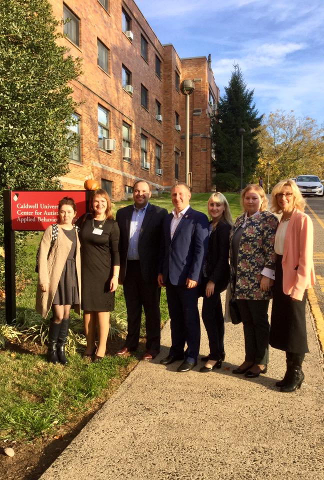 Special education delegates from Russia in Caldwell University