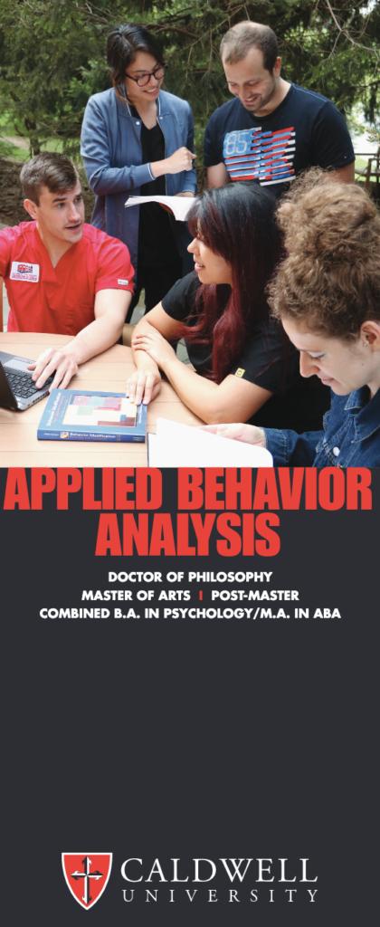 Applied Behavior Analysis Brochure