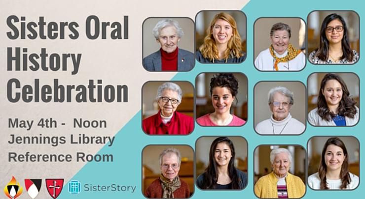 Sister Oral History Celebration Flyer