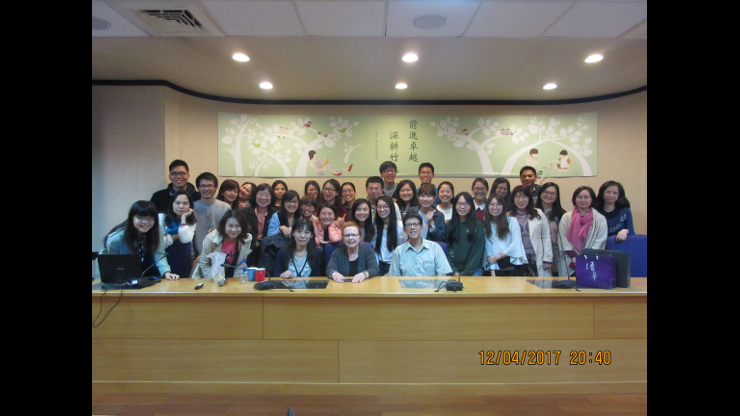 Group of people in Convention in Taiwan