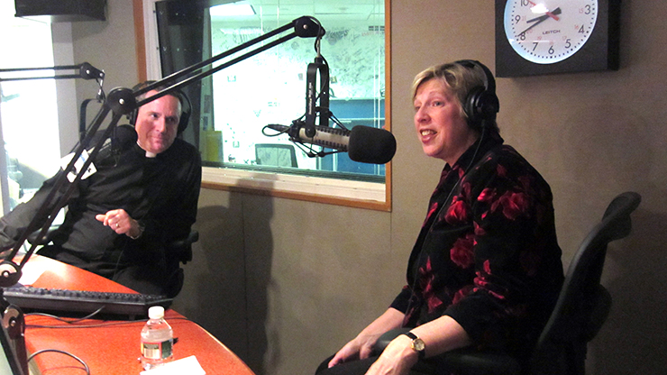 Dr. Nancy Blattner, president of Caldwell University, was a guest on The Busted Halo Show with Father Dave Dwyer on the Catholic Channel on Sirius XM Satellite Radio channel 129