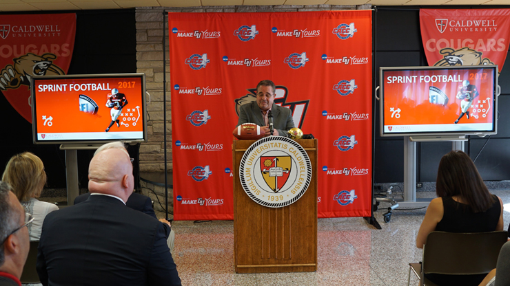 Sprint Football Press Conference and Official Ceremony