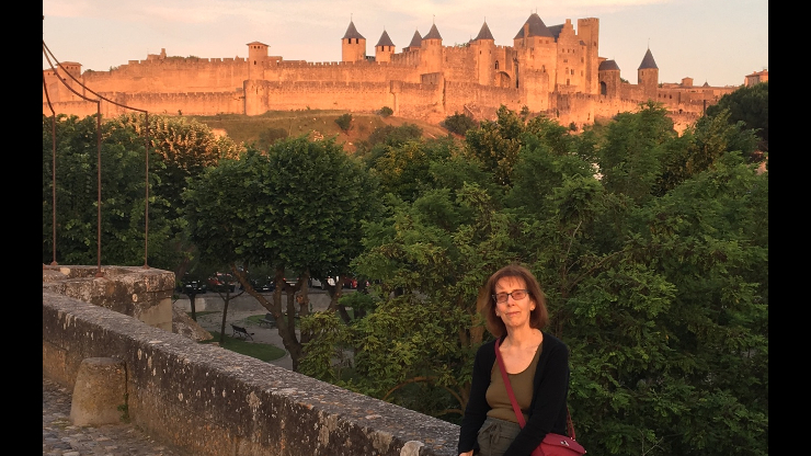 Professor Nan Childress Orchard in France