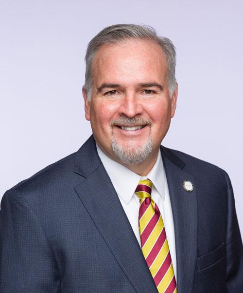 Photo of Caldwell University President Dr. Matthew Whelan