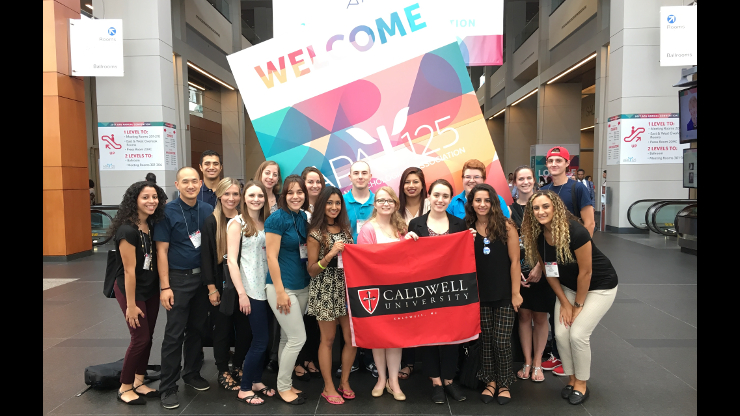 Caldwell Students Participate At National Psychology Conference