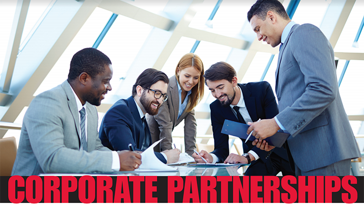 Corporate Partnerships Display Image