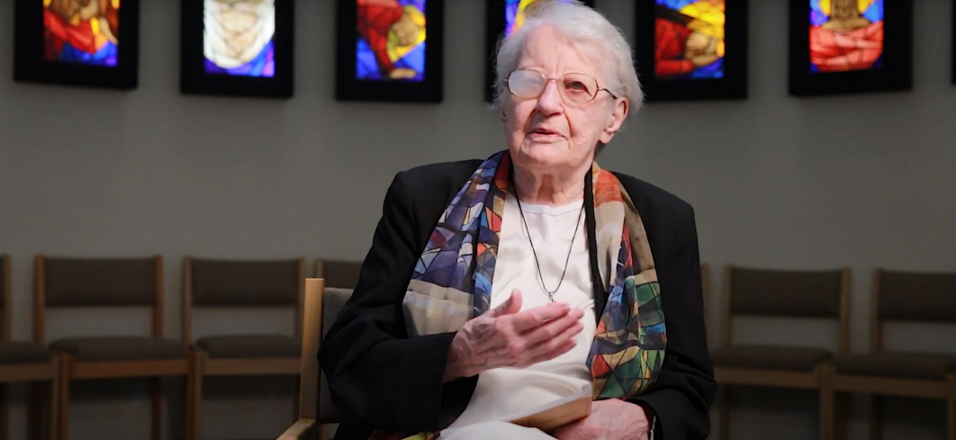Sister Gerardine interview photo
