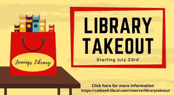 Library Takeout Flyer