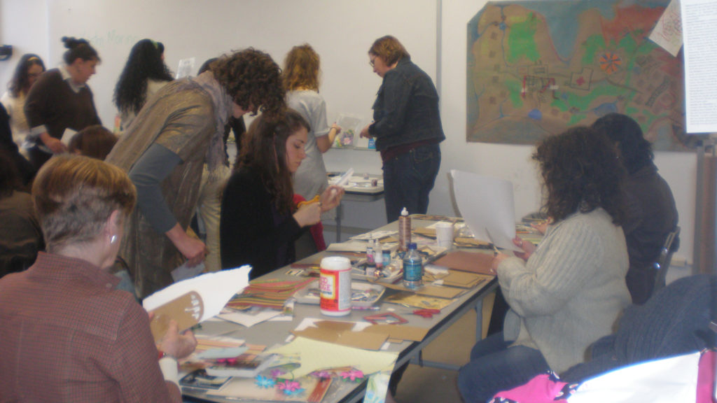 Caldwell University Student Attending the Art Therapy Conference