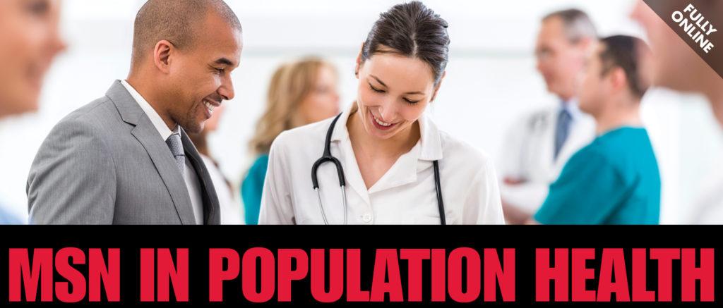 MSN in Population Health - Fully Online