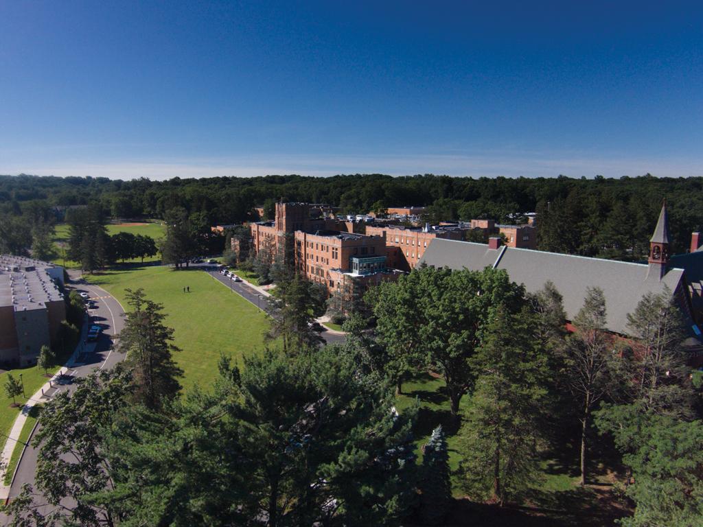 Caldwell University Drone Shot