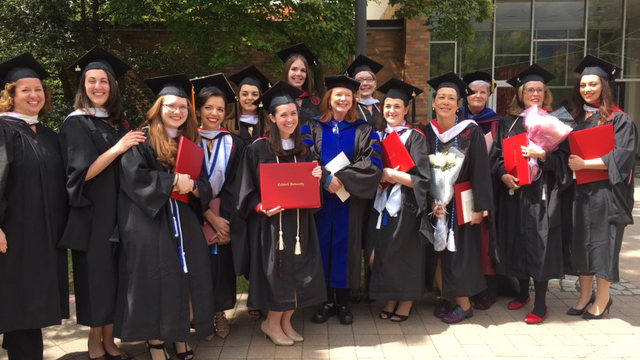 2016 Graduation Class posing for the photo.