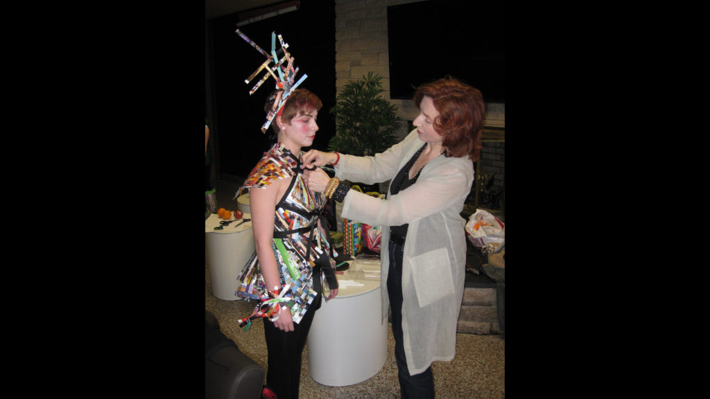 """""""Wearable Art"""" Graduate Art Therapy Student Show."""
