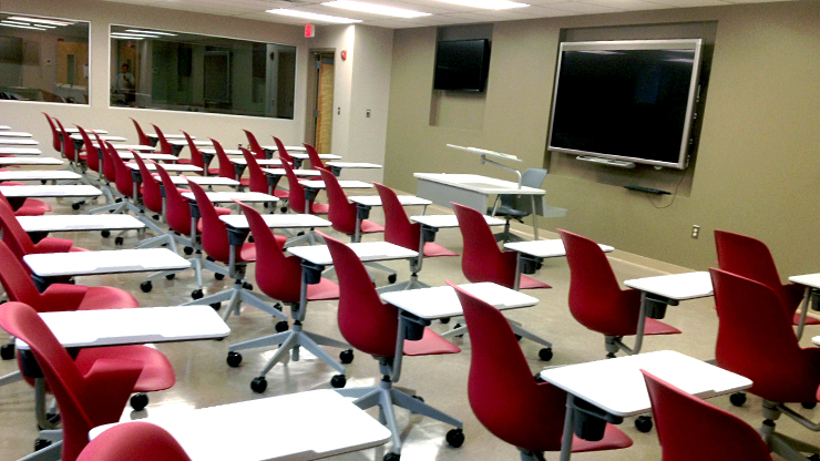 Caldwell University Classroom for nursing