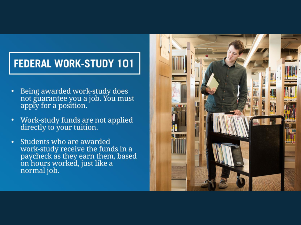 Federal Work Study informative Image
