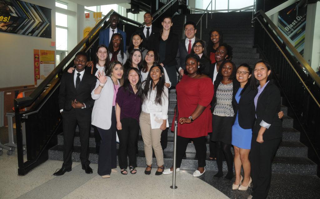Twenty Caldwell students attended the 2018 ICFNJ Undergraduate Research Symposium.