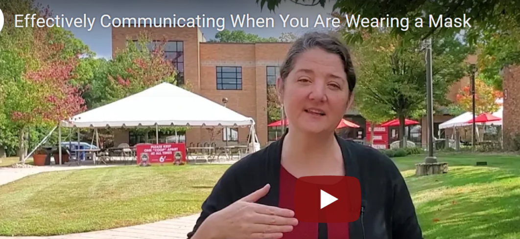 Effectively Communication while wearing a mask