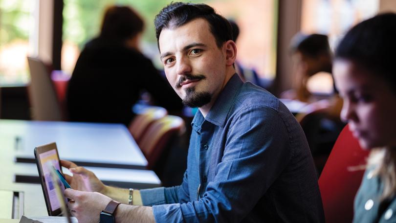 undergraduate business student