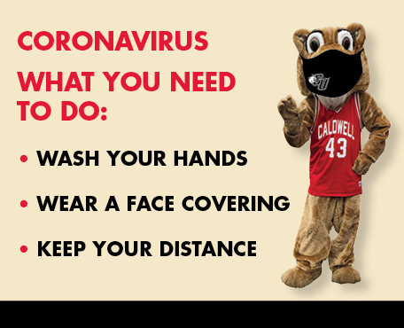 Coronavirus What you need to do: - Wash your hands - Wear a face covering - Keep your distance