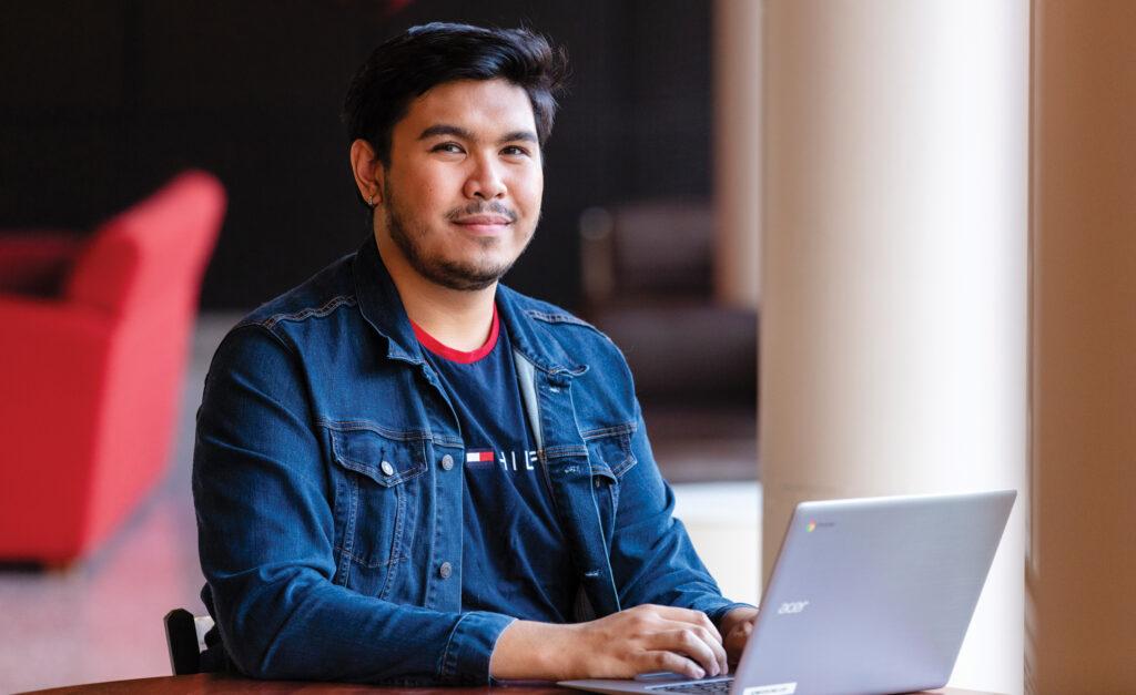 Ryan Rutano, nursing student at Caldwell University