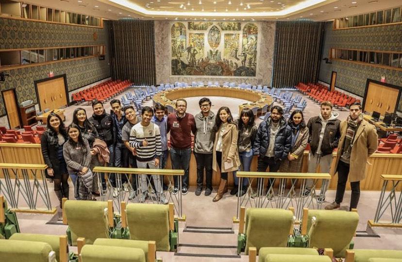 Honors students visit the U.N.