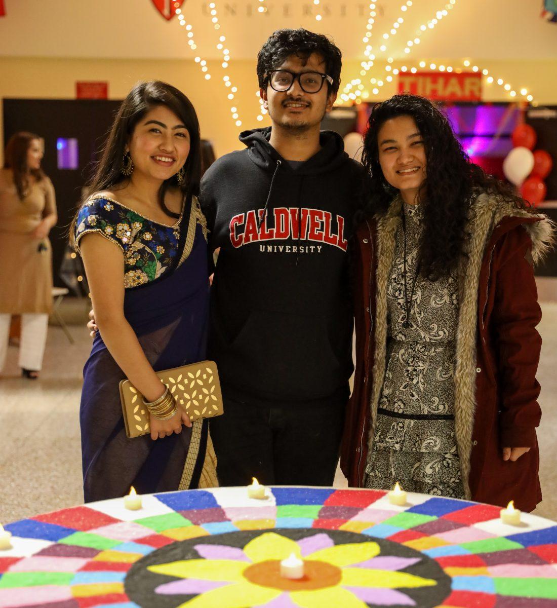 CU students at TIhar event