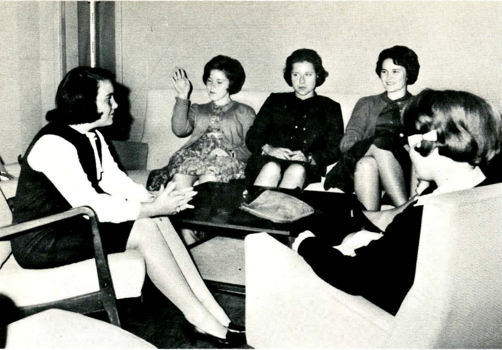 Caldwell University Students in the year 1964
