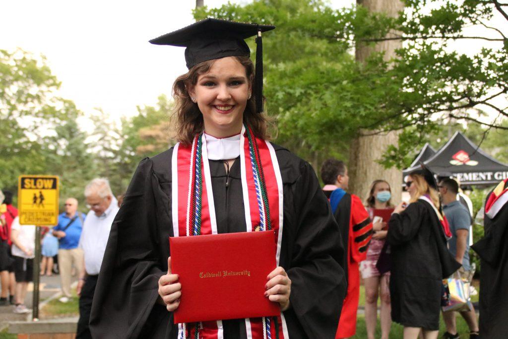 Madison Perry graduation photo