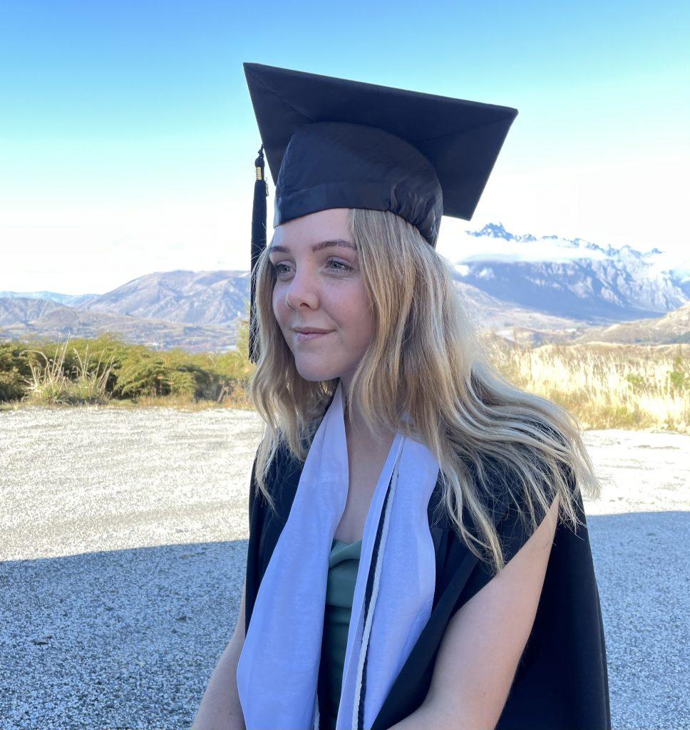 Sophie Hicks graduation photo