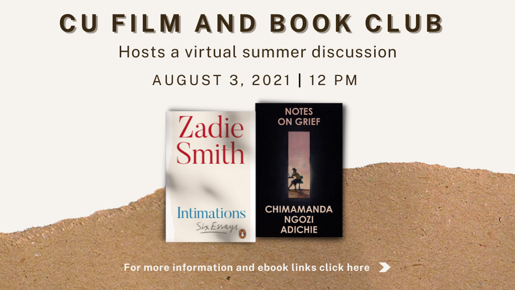 Book Club Discussion Event Banner