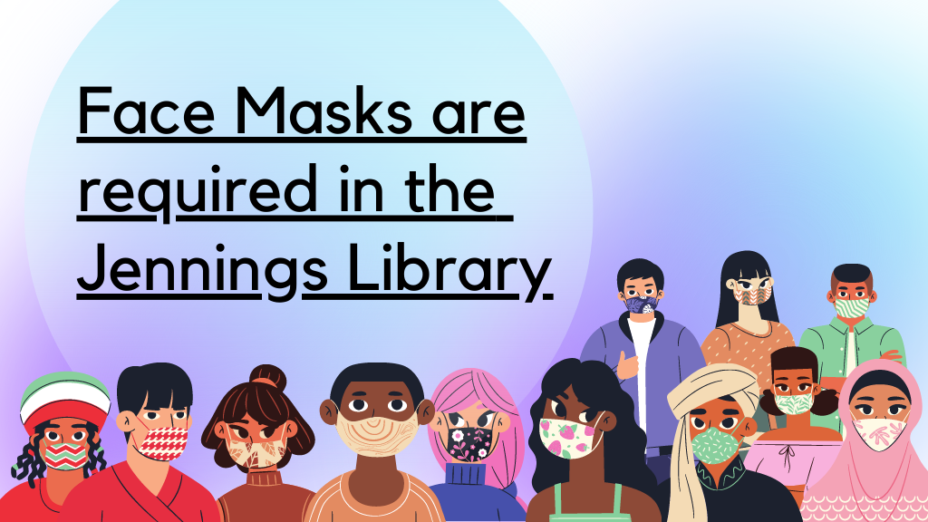 Library Face covering rule